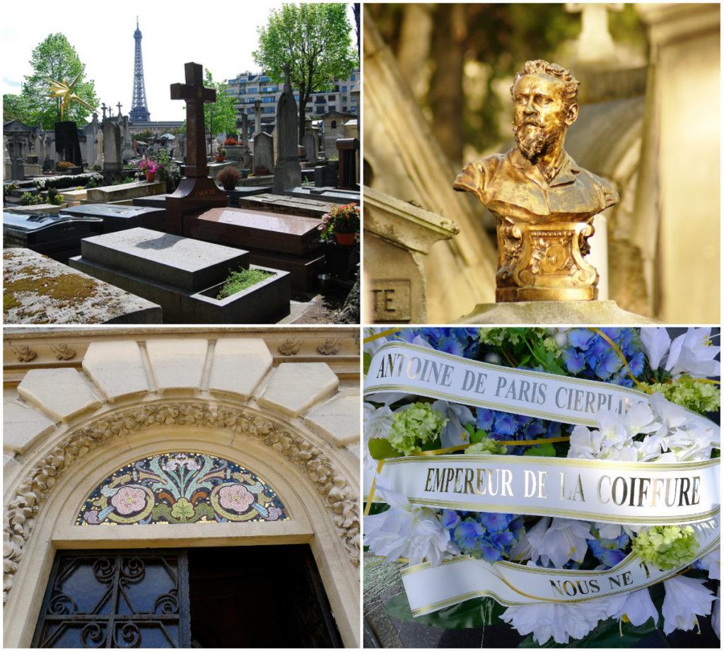 begraafplaatsen Parijs Passy