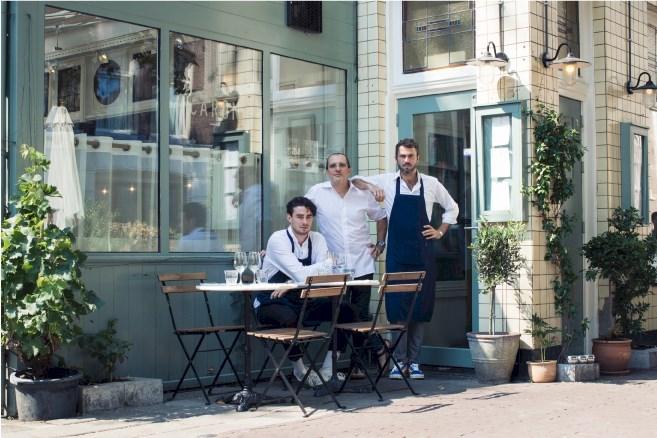 Café Caron goed Frans restaurant Amsterdam Alain Caron en zonen