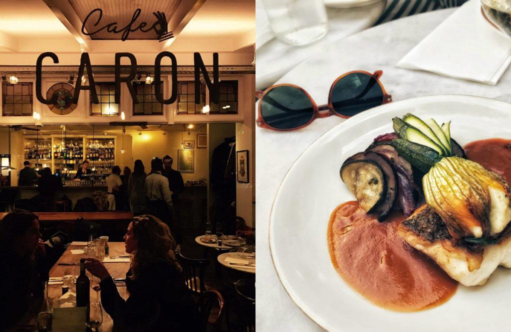 Café Caron goed Frans restaurant Amsterdam