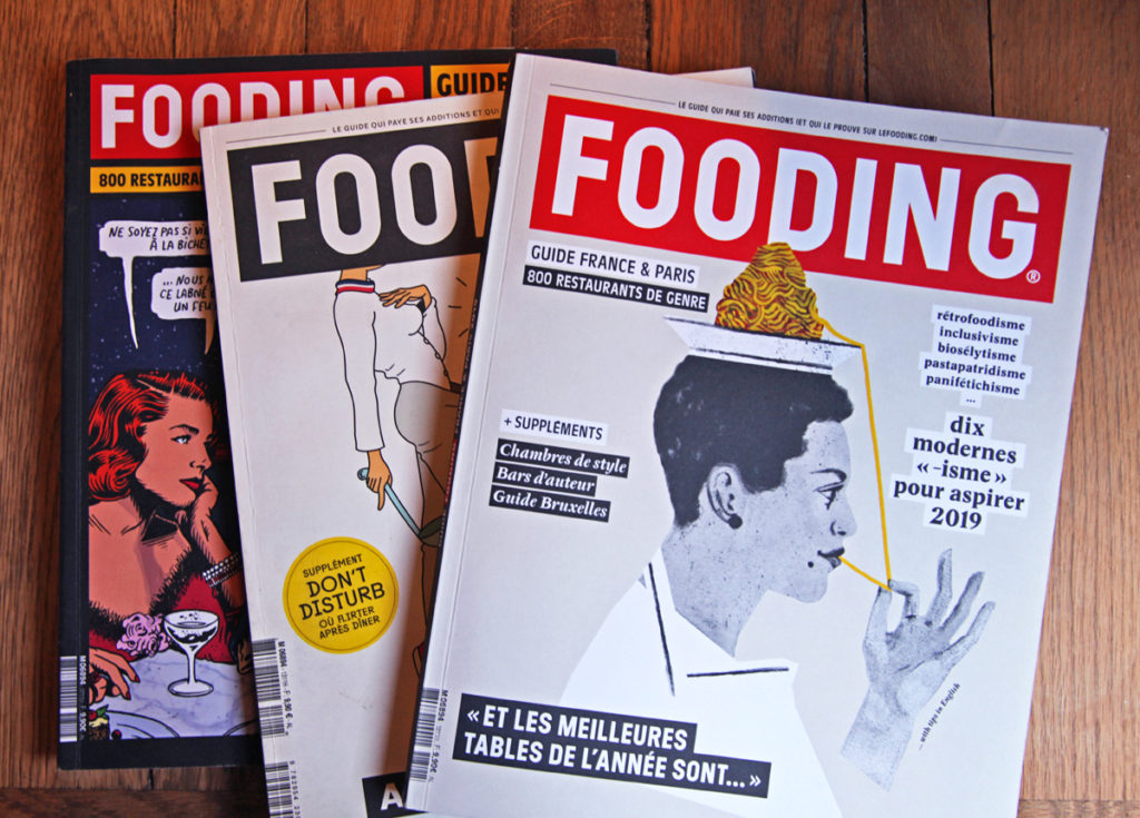 Le Guide Fooding 2019 Franse restaurantgids