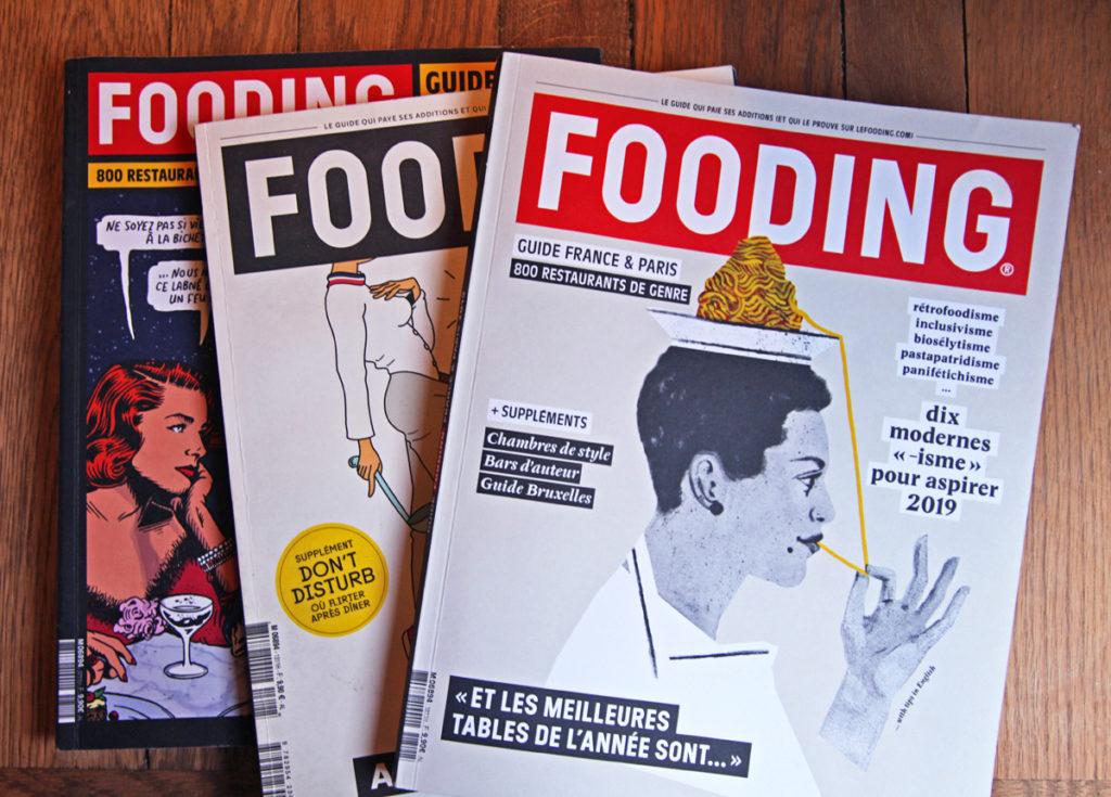 Le Guide Fooding 2019 Franse restaurantgids