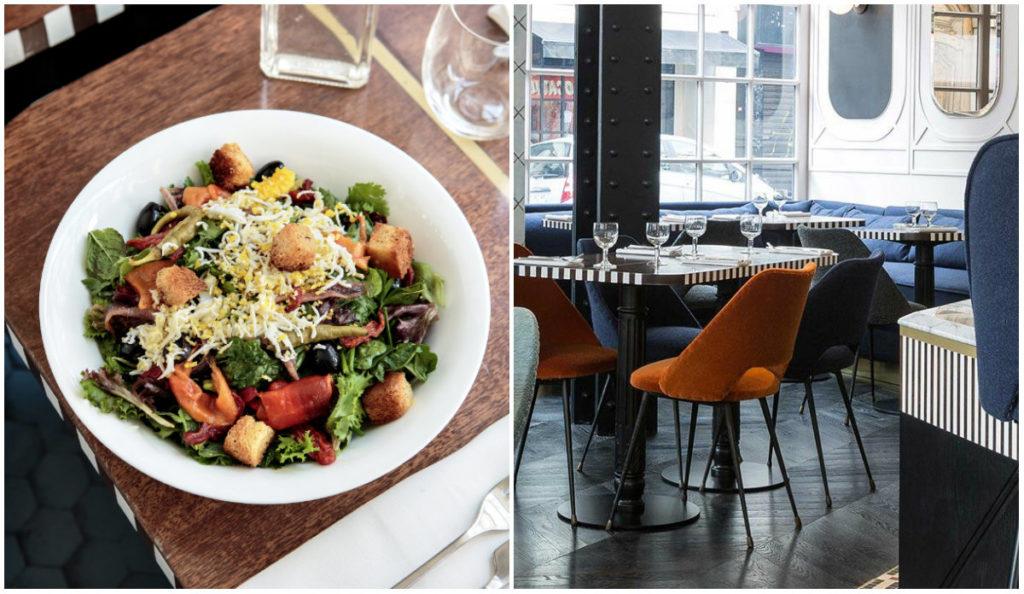 moderne bistro restaurant Panache Parijs