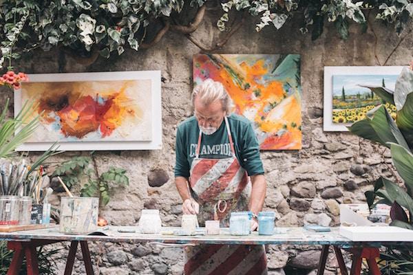 kunstenaar schilder Côte d'Azur