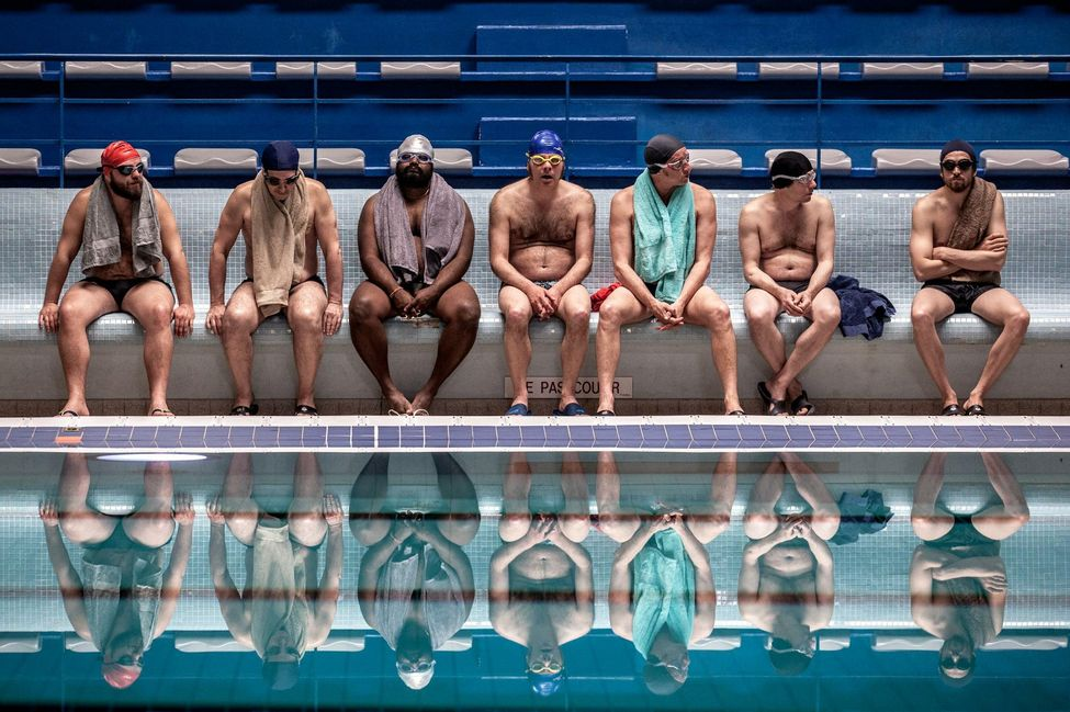 Le Grand Bain franse film schoonzwemmers