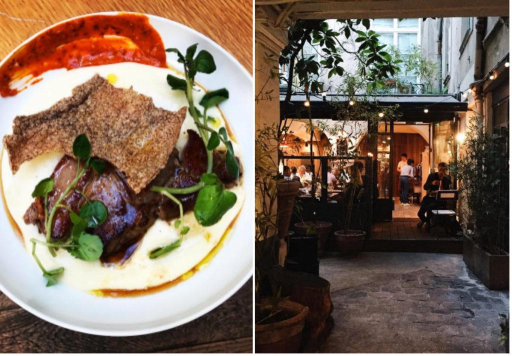 moderne bistro restaurant Jaja Parijs