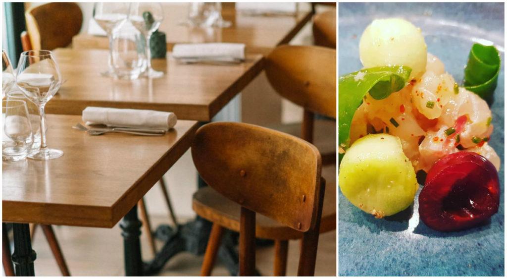 moderne bistro restaurant Plume Parijs