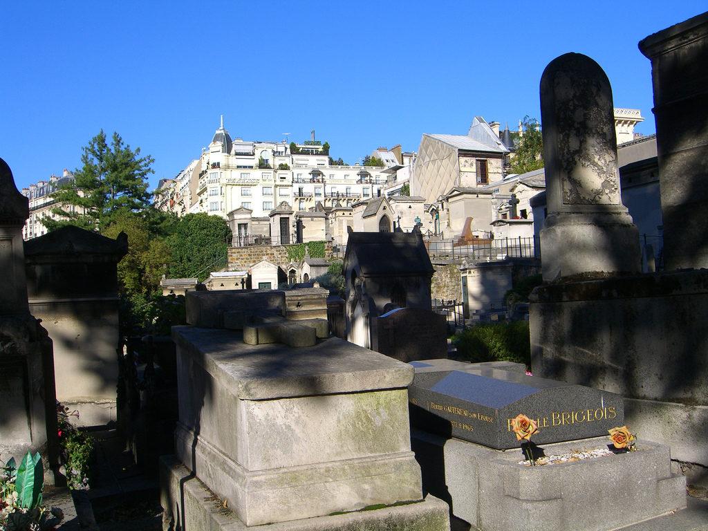 begraafplaats Montmartre in Parijs