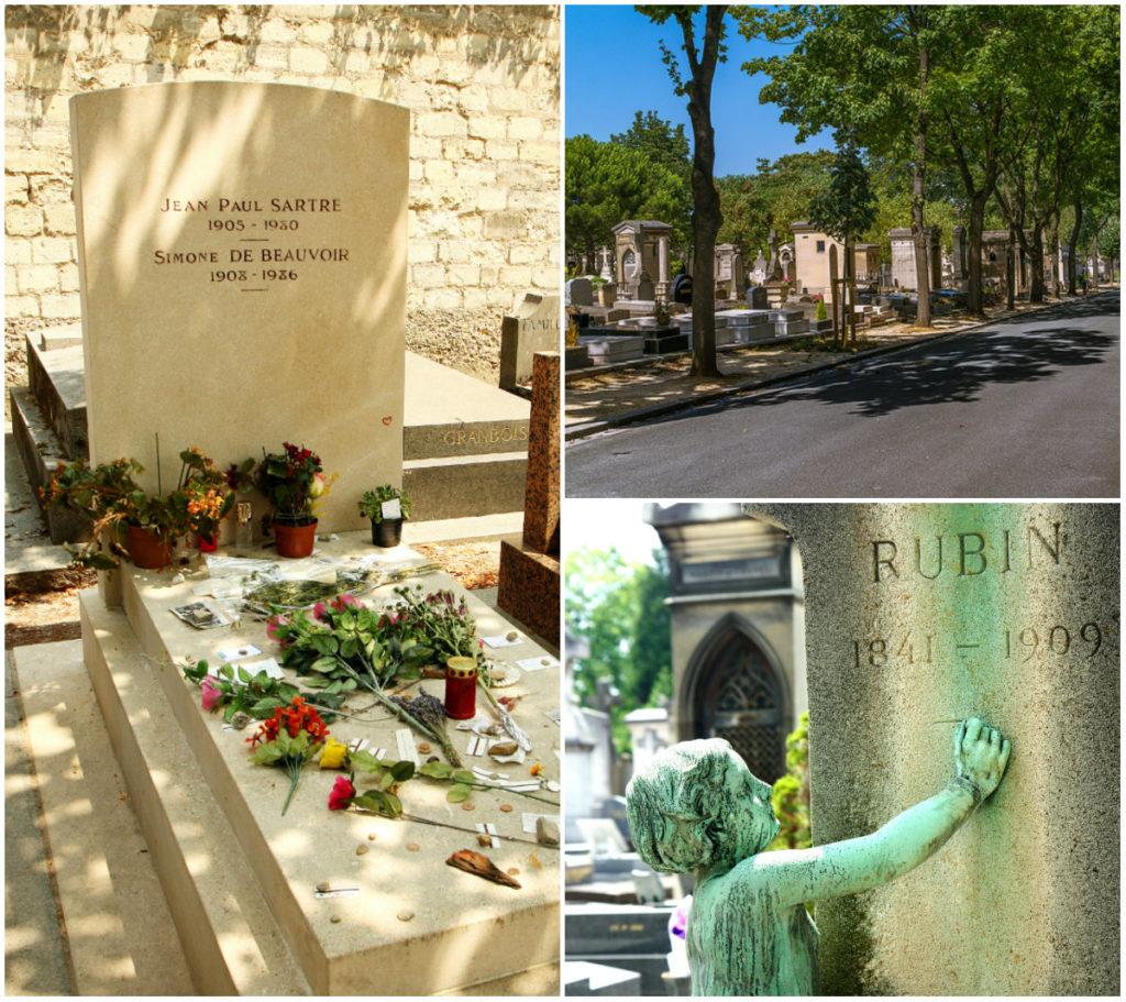 begraafplaatsen Parijs Montparnasse