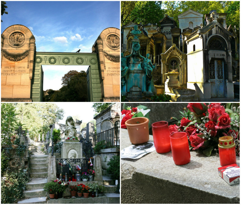 begraafplaatsen Parijs Pere Lachaise Jim Morrison