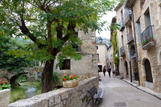 Straatje van Saint-Guilhem-le-Désert