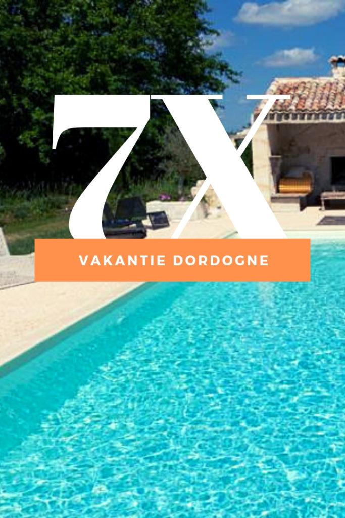 Vakantie Dordogne