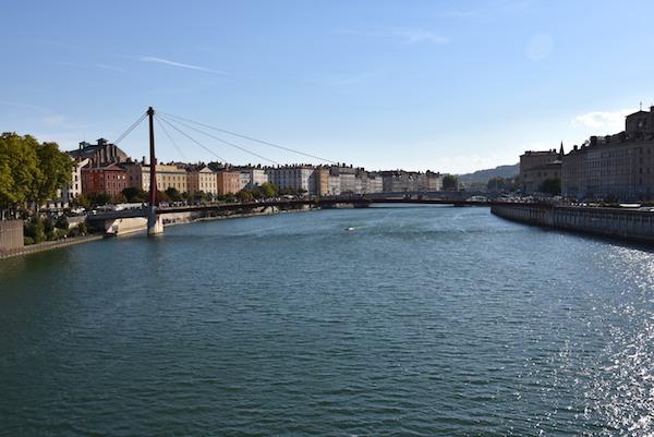 Zien & doen in Lyon Saone rivier