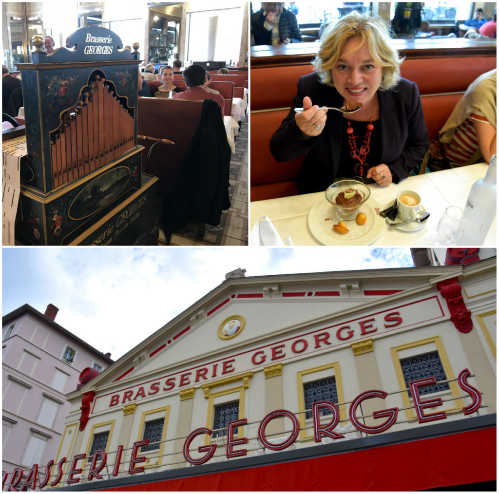 Zien & doen in Lyon brasserie Georges