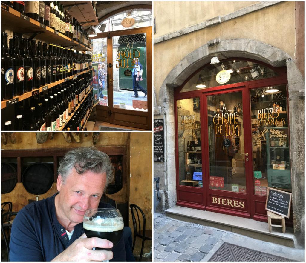 Zien & doen in Lyon - biercafé in Vieux-Lyon