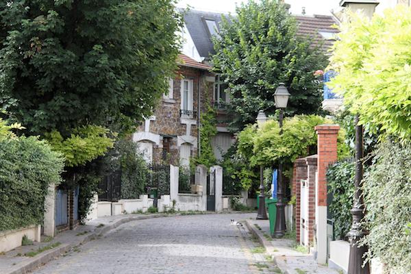 Onbekend Parijs wijk Campagne à Paris