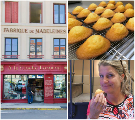 Madeleines in Commercy