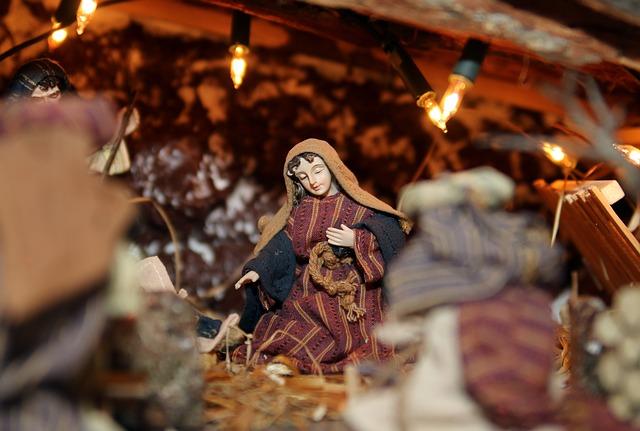 kerststal Frankrijk traditie crèche de Noel