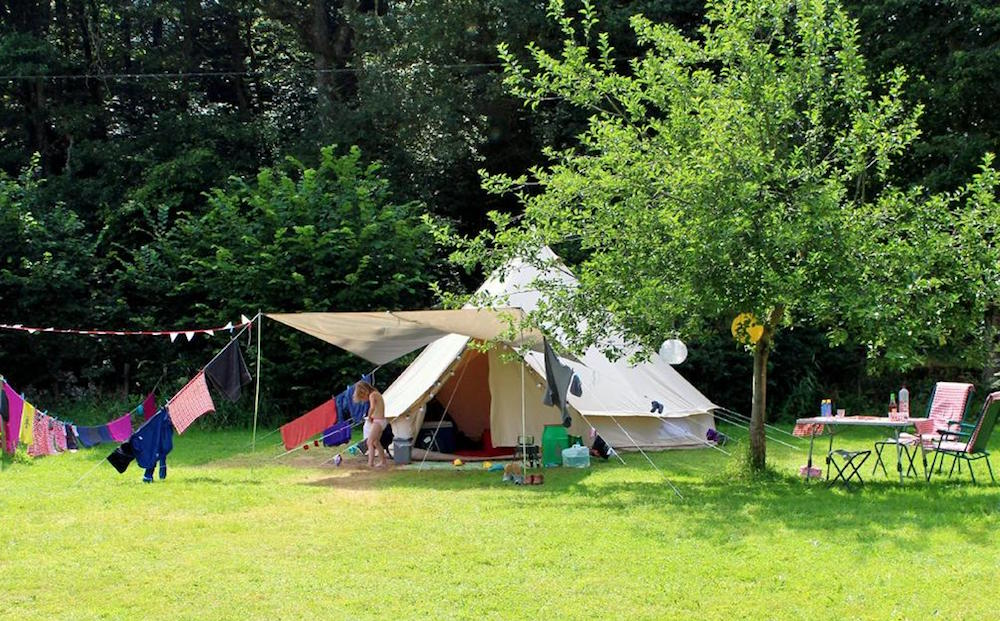 glamping in de Limousin Jarasses camping canvastent