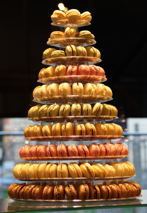 macarons Kerst in Frankrijk