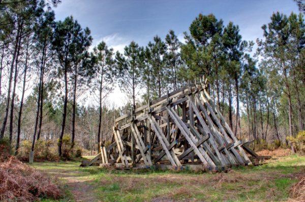 Les Landes bos kunstroute