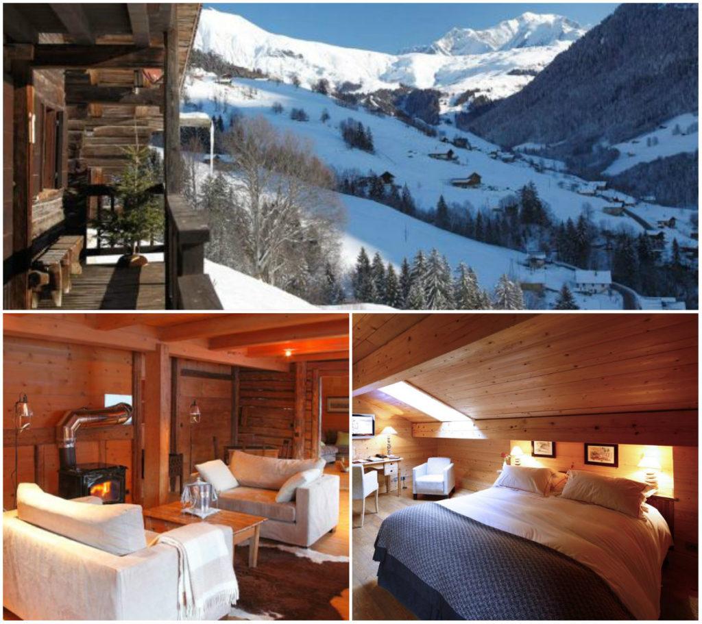 Ferme du Chozal Hauteluce romantisch wintersporthotel