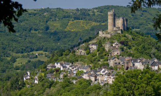 Najac in de Lot-et-Garonne