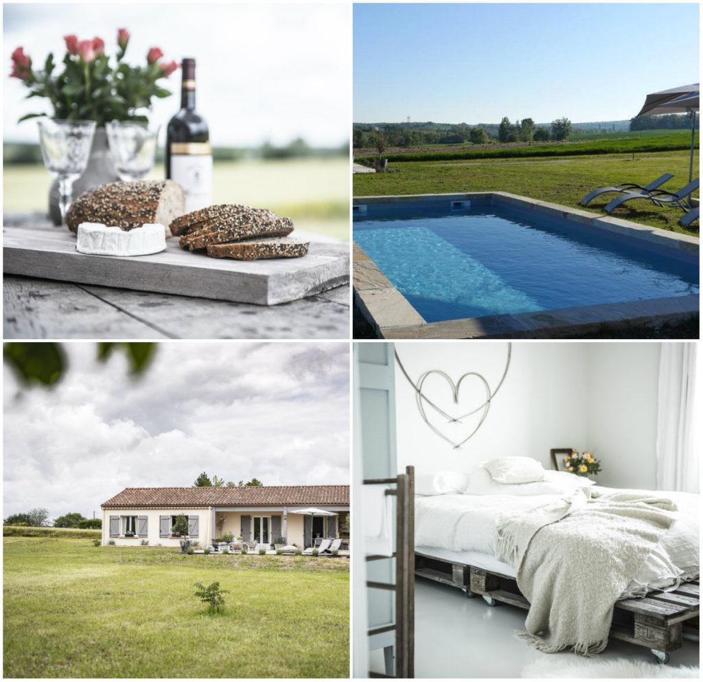 vakantiehuis met zwembad Dordogne Lot-et-Garonne met zwembad