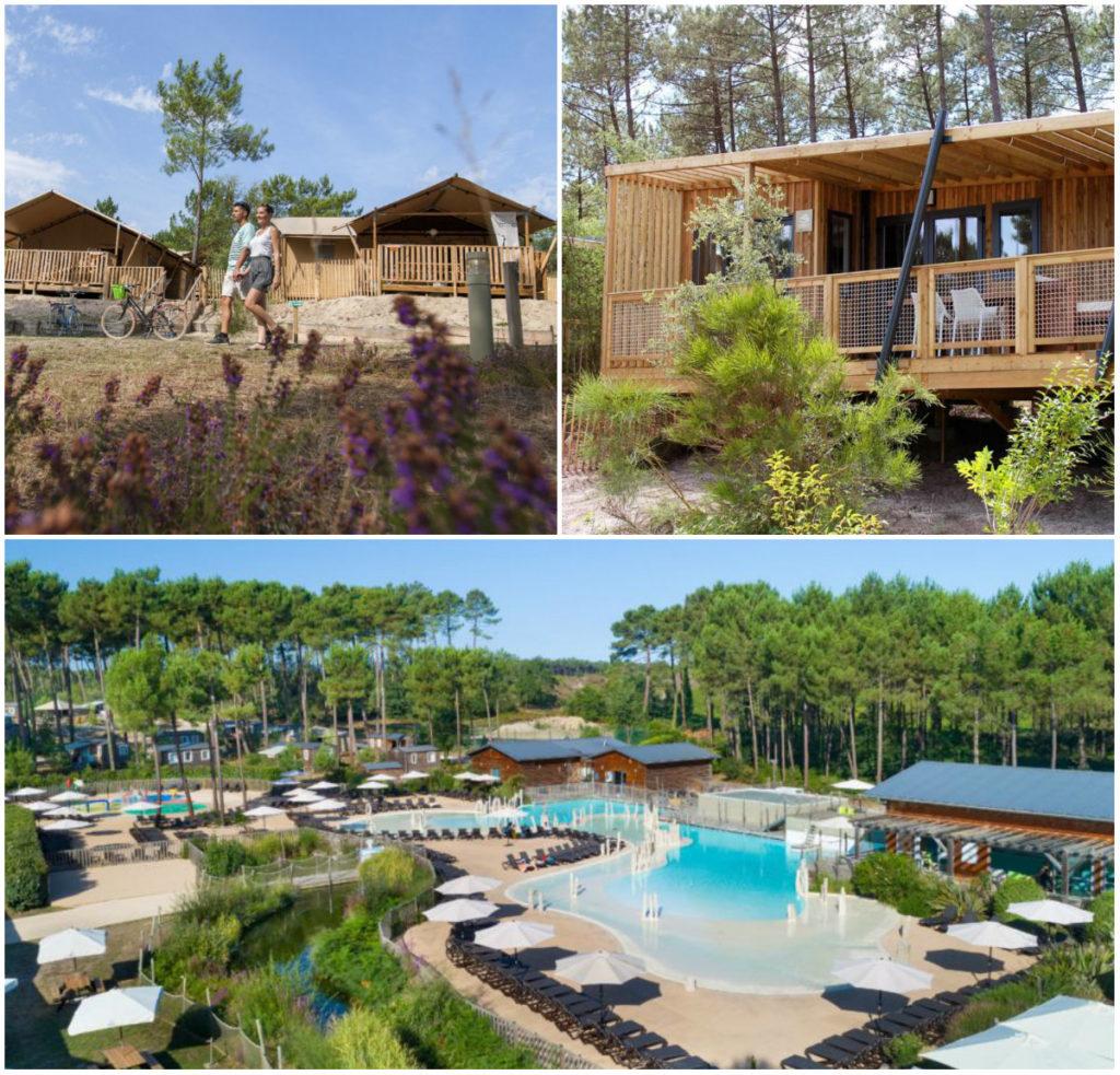 kamperen campings tussen zee en meren Les Landes Camping Soustons