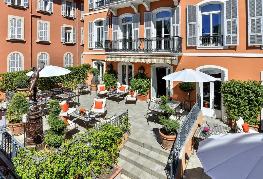hotel Ellington centraal geleden in Nice
