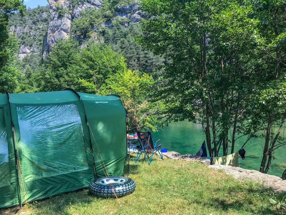 Kamperen in Midden Frankrijk op natuurcamping