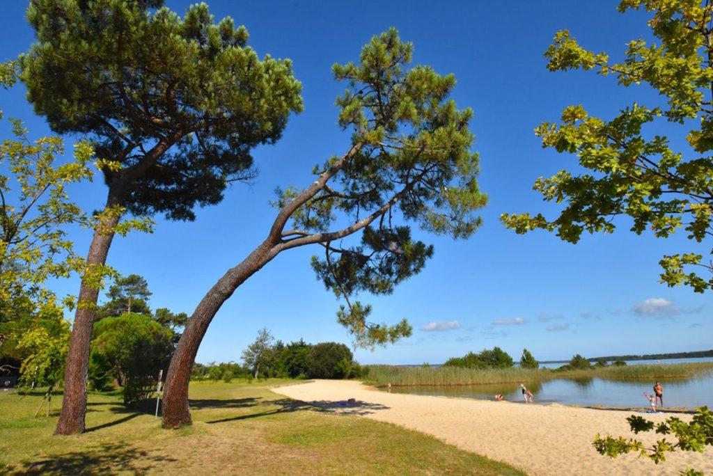 kamperen campings tussen zee en meren Les Landes