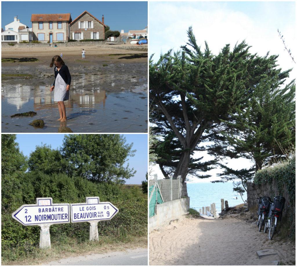 Noirmoutier haven fietsen weg