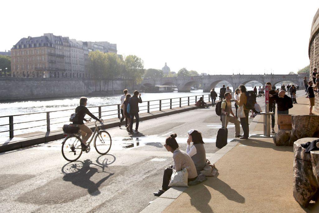 Parijs tips met tieners Berges de Seine