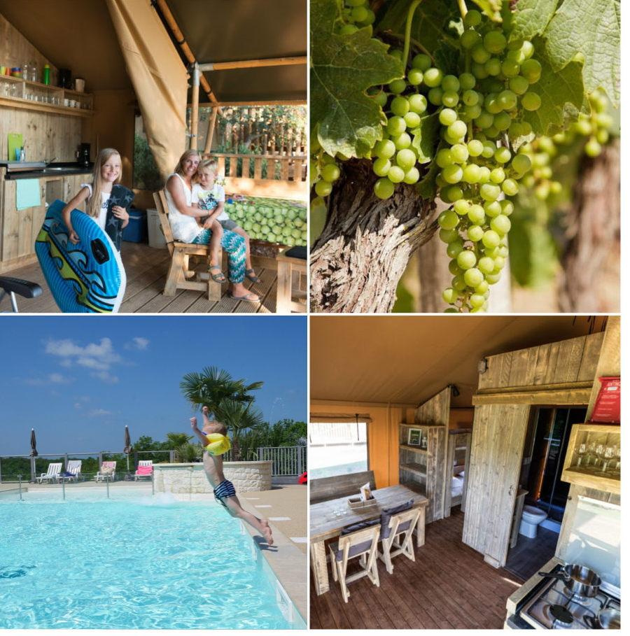 Glamping in Tendi Safaritent in Frankrijk