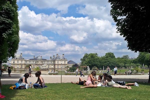 Parijs tips met tieners Luxembourg