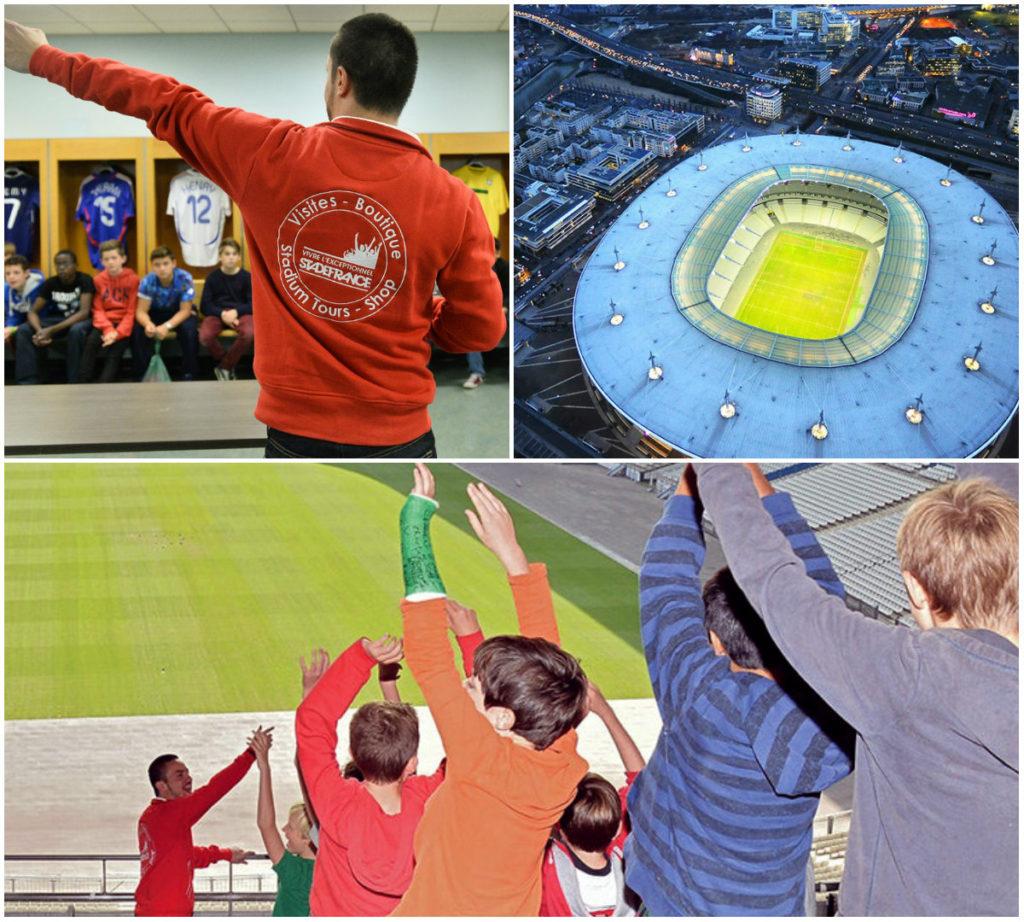 Parijs met tieners rondleiding Stade de France