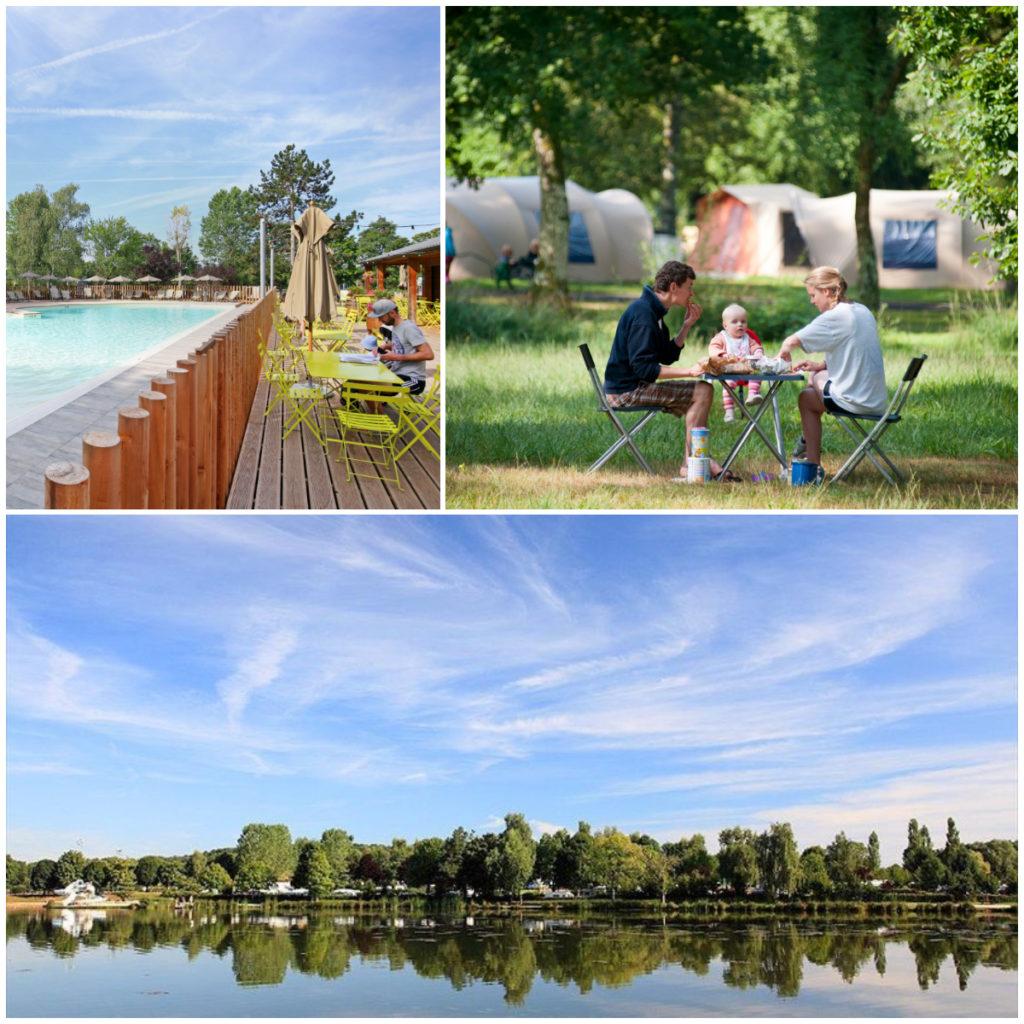 campings aan een meer in Frankrijk Bourgogne