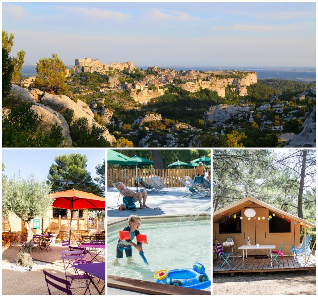 Camping Baux-les-Provence Zuid-Frankrijk Huttopia
