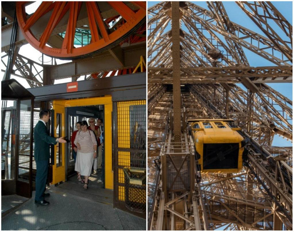 ascenseur Eiffeltoren
