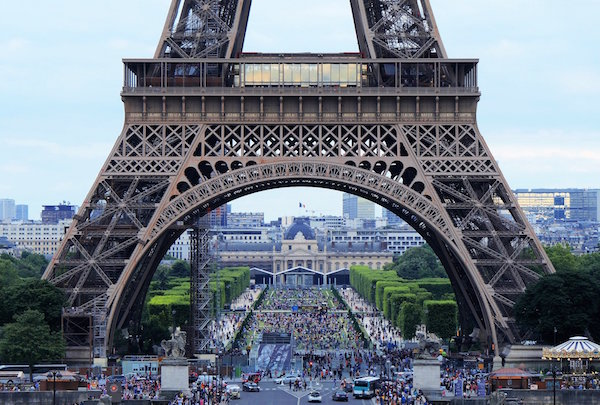 Eiffeltoren voorkant