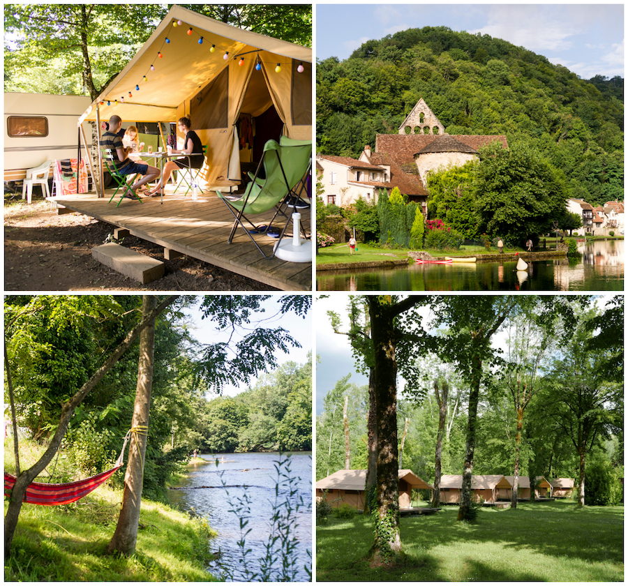 camping Dordogne Sarkat Huttopia