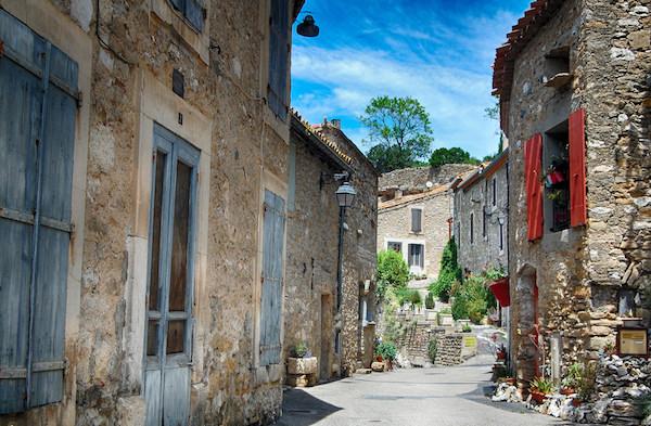 Minerve mooi dorp Hérault
