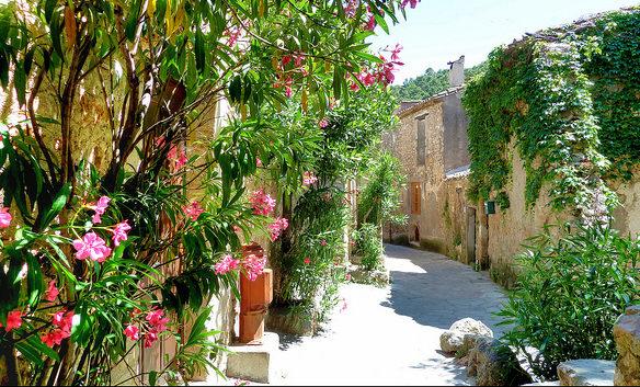 Saint-Guilhem dorpje