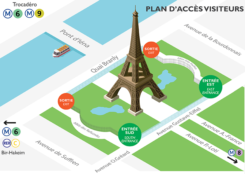 Eiffeltoren praktische tips bezoek