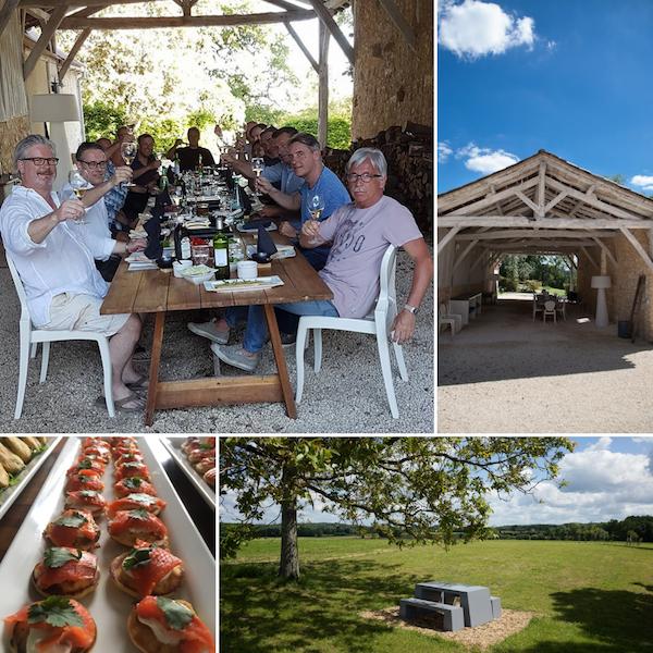 vakantiehuizen design Dordogne tables d'hotes