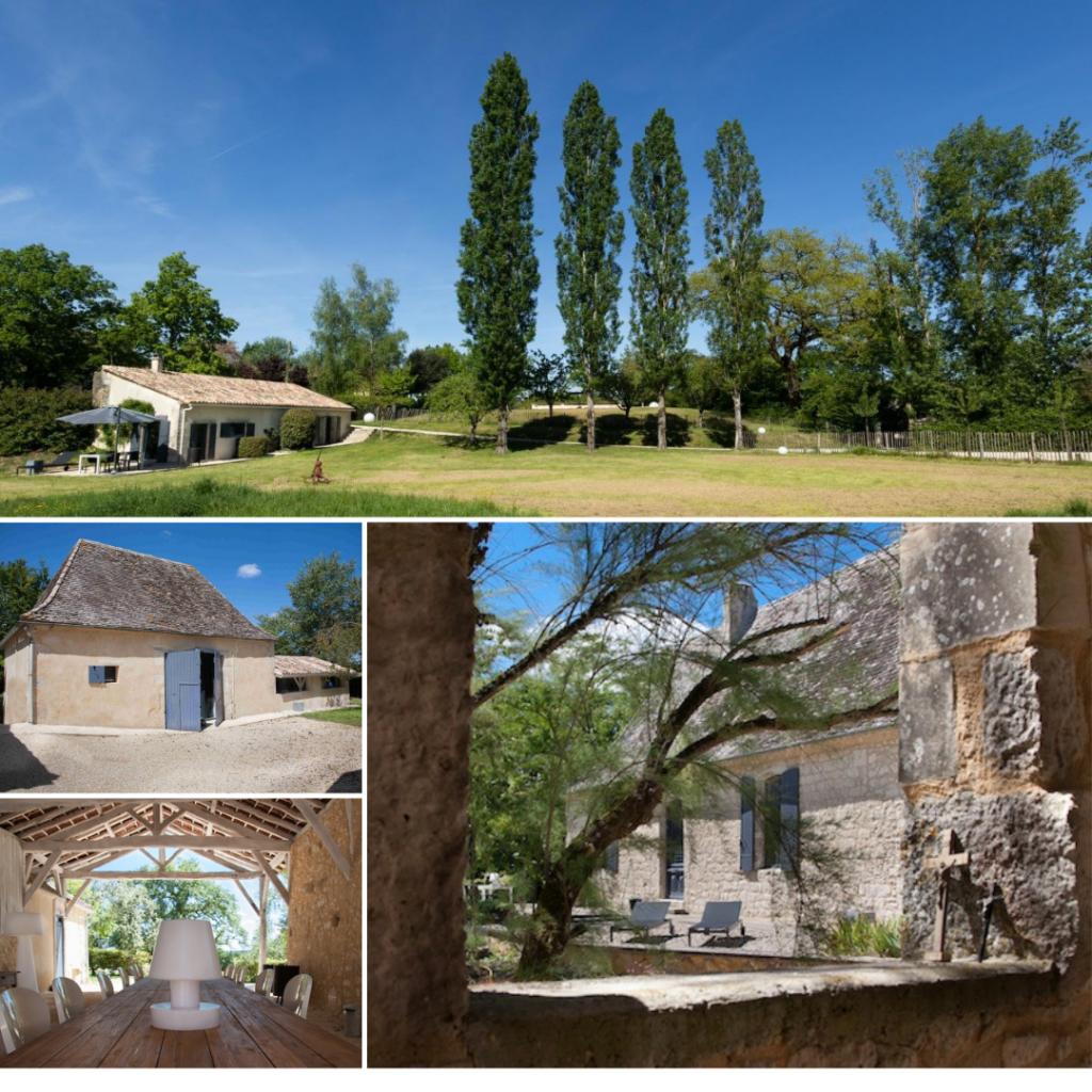 vakantiehuizen design Dordogne