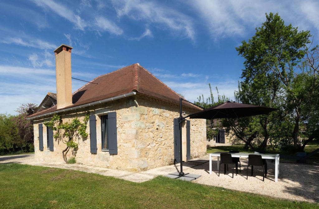 vakantiehuis platteland Dordogne Au Perier