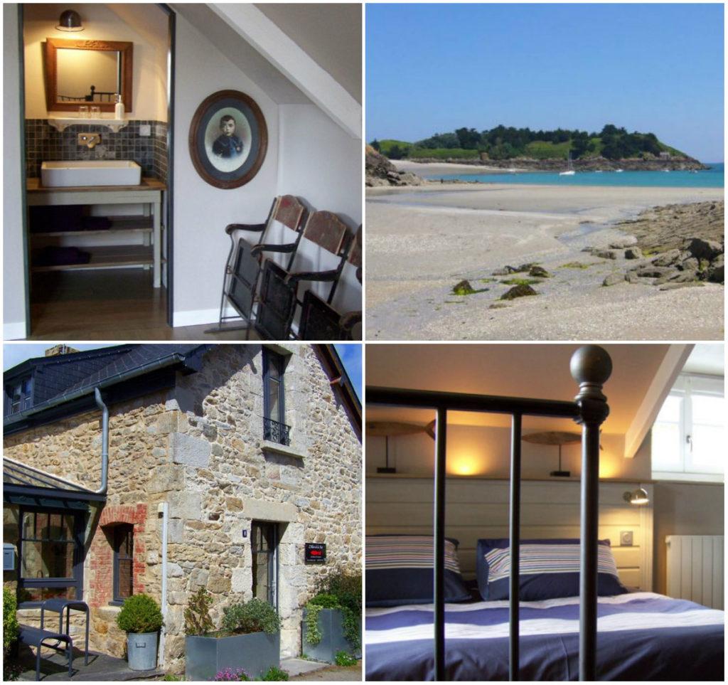 La belle Noé Maison du bord de Mer Bretagne