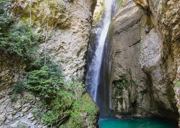 Cascade de la Druise Drome Waterval