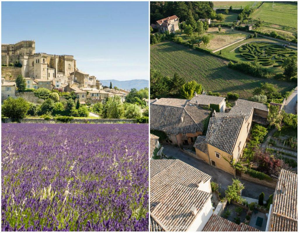 Grignan Drome lavendel